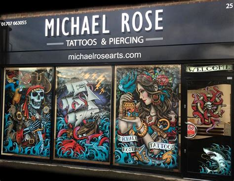 tattoo bar dc michael tattoos piercing artist potters bar