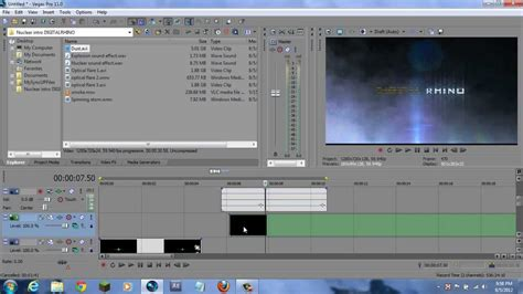 vegas pro intro tutorial how to make a professional explosive intro in sony vegas