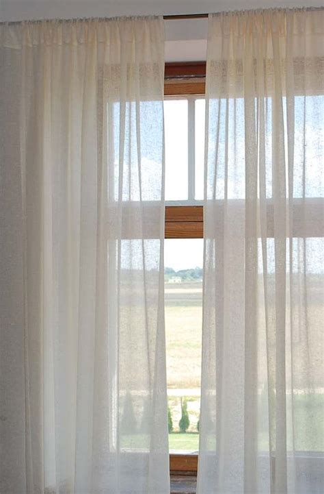 Ivory Linen Curtains 17 Best Images About Curtains On Better Homes And Gardens And Sheer Curtains