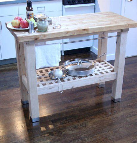 best products ikea groland butcher block island