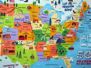 maps update 1100704 travel map of the united states