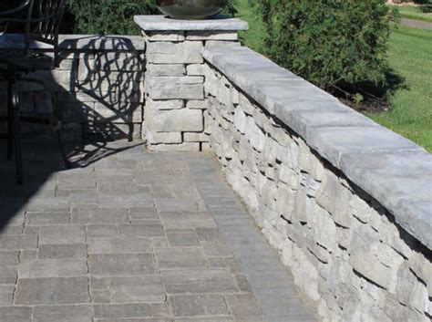 Retaining Wall Coping Oberfiled S Rosetta Dimensional Coping Retaining Wall
