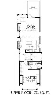 Narrow Home Floor Plans Narrow House Plans Studio Design Gallery Best Design