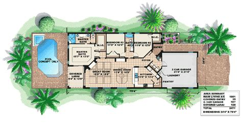 mediterranean house plans for narrow lots 28 mediterranean house plans for narrow eplans mediterranean house plan well