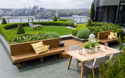 garten terrasse dach roof garden design exterior roof terrace garden within