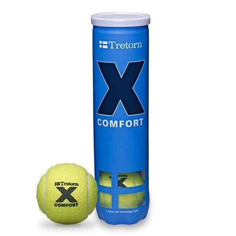 Tretorn Micro X Comfort Tennis Balls 4 Ball Can Quantity