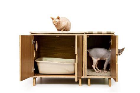 modern cat furniture modular cabinet set mid century modern pet furniture
