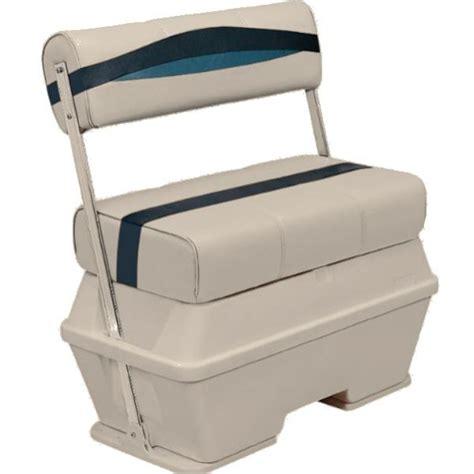 boat cooler seat frame premier pontoon boat 72 quart cooler flip flop seat bm11005