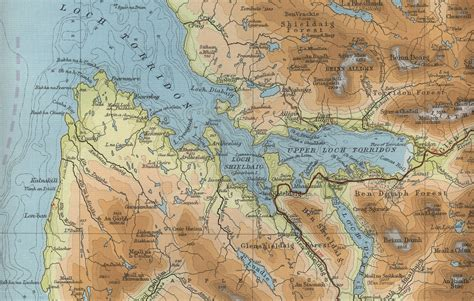 maps maps torridon map