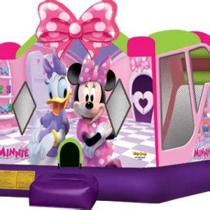 Minnie Mouse Backyard by Backyard Inflatables Home Backyard Inflatables