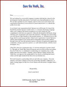 Corporate Sponsorship Outline by Doc 425388 Exle Sponsorship Letter Sles Of Non