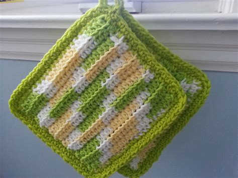 pot holder pattern easy modern grace design free pattern easy ribbed hot pad