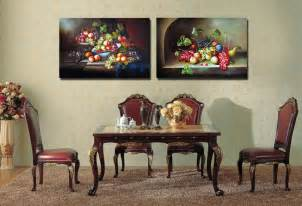 painting calligraphy flower fruits kitchen dining room