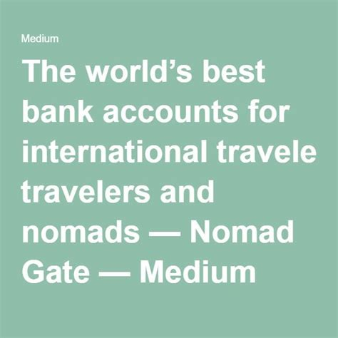 best global bank account 17 best ideas about best bank accounts on best