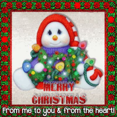 heart  merry christmas wishes ecards
