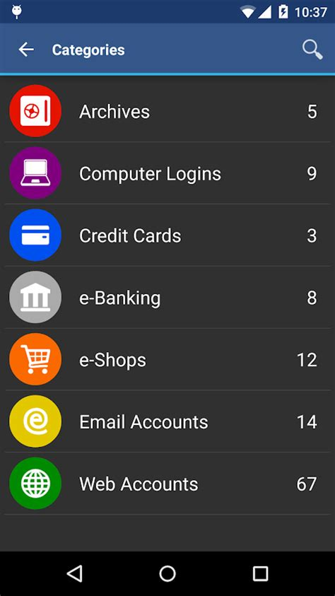 password apk awallet cloud password manager apk android productivity apps