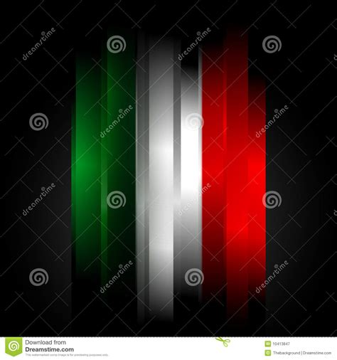 futuristic colors futuristic abstract in italian flag colors stock