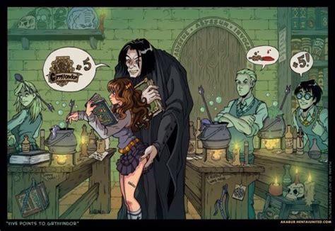 Hermione sex cartoon