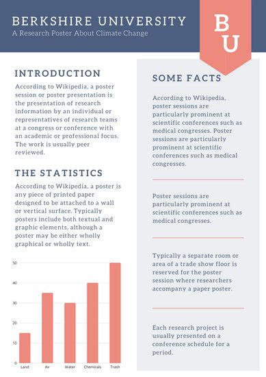 canva response card template blue and orange simple research poster templates by