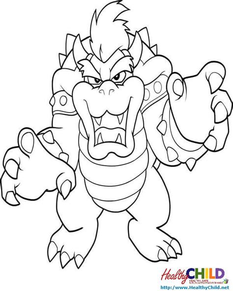 mario coloring pages bowser jr bowser coloring pages bowser coloring pages pictures mario