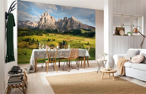 Tapeten Schlafzimmer Modern 982 by Fototapete Alpen Komar