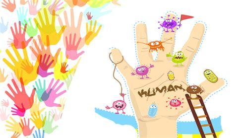 gambar tato tangan kartun manfaat cuci tangan bagi kesehatan odivers26