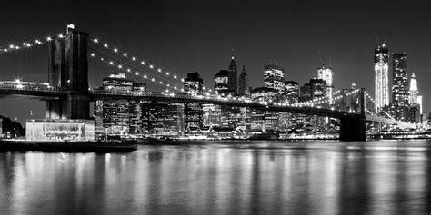 black and white new york skyline wallpaper for bedroom night skyline new york city architektur view fotocommunity