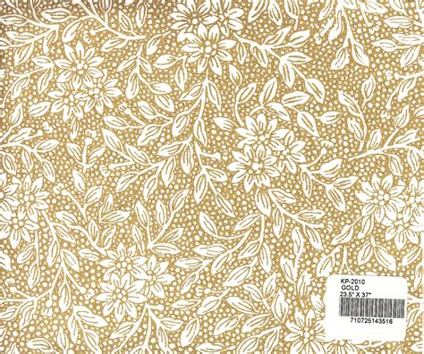 floral pattern in gold mountain valley paper