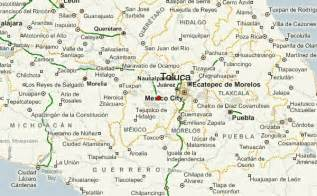 Toluca Mexico Map by Toluca Location Guide