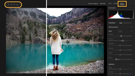 edit photos get started with lightroom on the web adobe photoshop