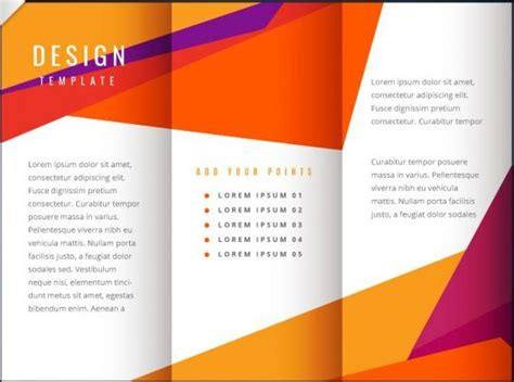 templates of brochures 40 professional free tri fold brochure templates word