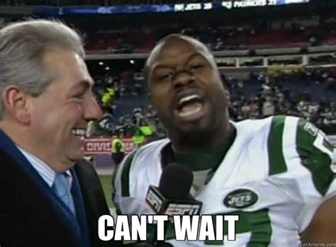 Can T Wait Meme - can t wait bart scott quickmeme