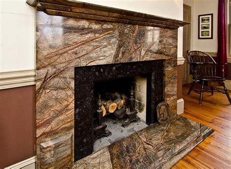 Fireplace With Granite by Before After Rainforest Green Granite Fireplace Surround