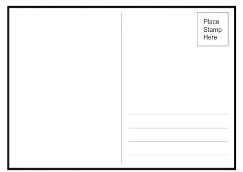 Plain Business Card Template Word Jjbuilding Info Jumbo Postcard Template