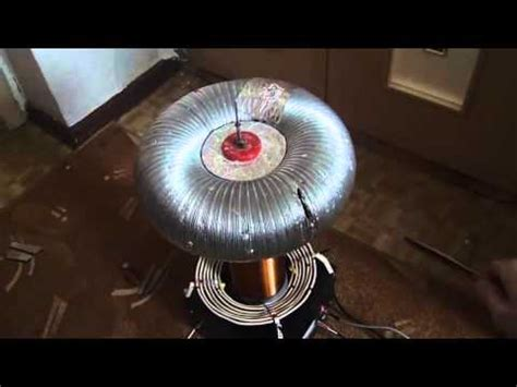 Tesla Coil Power Free Energy Jan 2015 How Partnered Output Coils Work