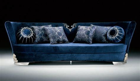 blue couch set sofa set blue images