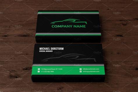 automotive business cards templates ai 30 automotive business card templates free psd design sles