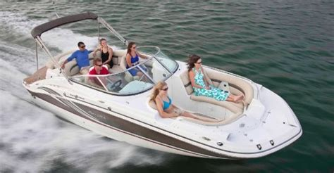 hurricane deck boat reviews 2012 hurricane sundeck 2400 io tested reviewed on