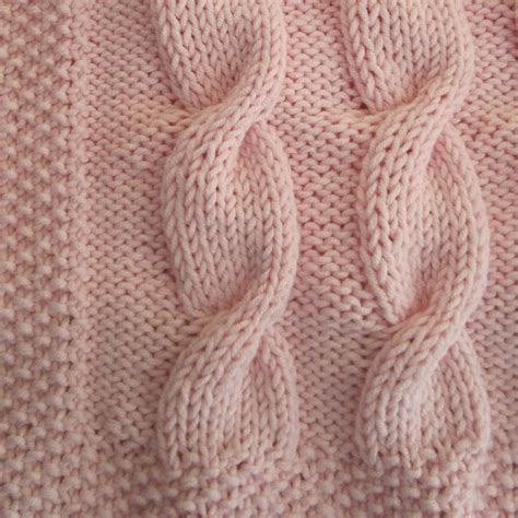 knit cable cable knit baby blanket patterns a knitting