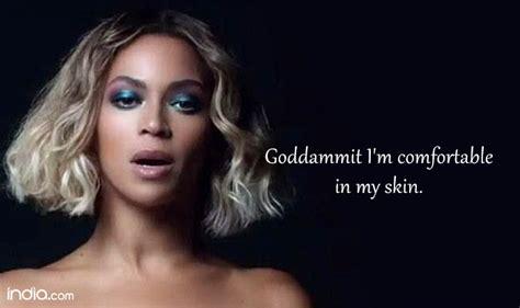 comfortable in my skin lyrics 17 inspirational beyonce lyrics to stay motivated keep