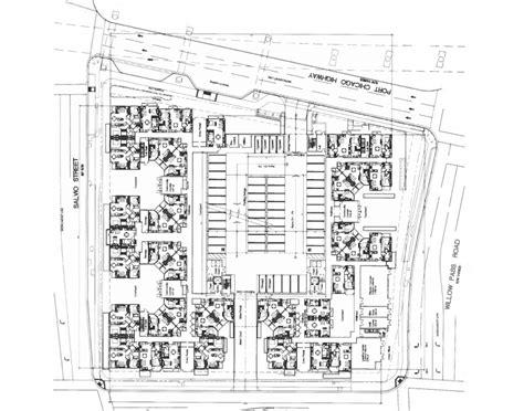 Apartment Complex Plans house plans apartment complex