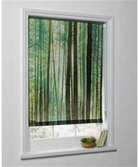 Kitchen Blinds Argos Debel 120 X 175 Cm 100 Percent Polyester Quot Tree Quot Blackout