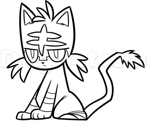 doodle drawings how to how to draw litten step by step characters