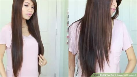 how to cut women s hair step by step how to do a layered haircut 12 steps with pictures