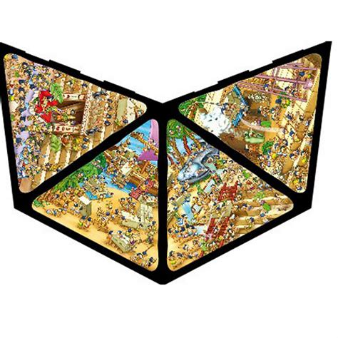 Puzzle 3 D 37 jigsaw puzzle 504 pieces 3d pyramid dtoys 65964 pc01 504 pieces jigsaw
