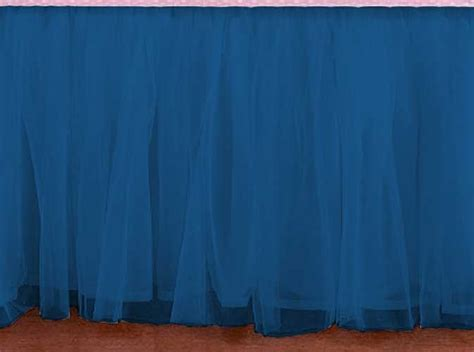 blue bed skirt queen size teal blue bed skirt with split corners linens