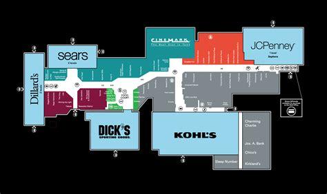 mall of louisiana inside map mall map of prien lake mall a simon mall lake charles la