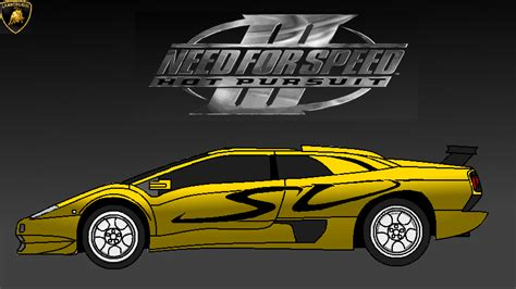 Lamborghini Diablo Speed Need For Speed Iii Pursuit Lamborghini Diablo By