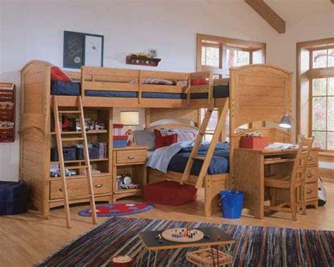 wooden bunk beds  kids beds   top double