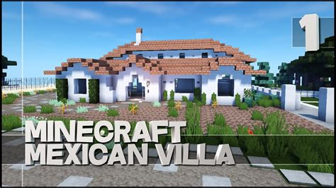 Blueprints For Tiny Houses minecraft lets build mexican villa youtube